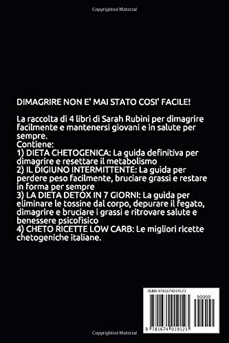 Zoom IMG-1 dimagrire facile 4 libri in