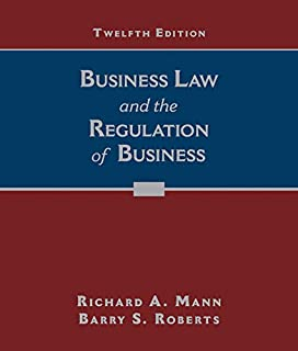 Business Law and the Regulation of Business (1305509552) | Amazon price tracker / tracking, Amazon price history charts, Amazon price watches, Amazon price drop alerts