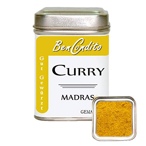 BenCondito - Curry Pulver Madras - Mildes Indisches Currypulver