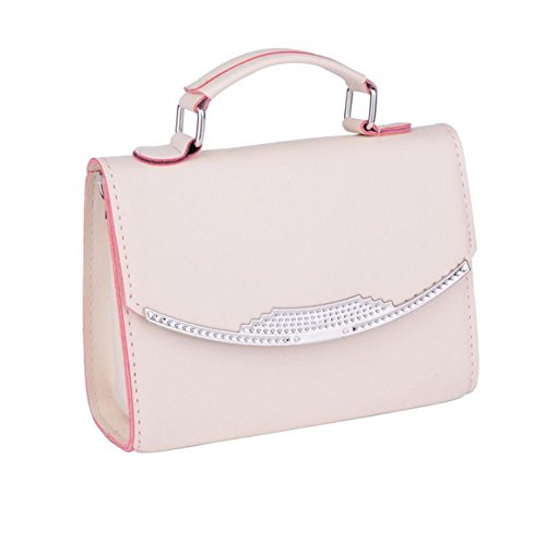 GBT Frauen-Schulter-Beutel-Handtasche White