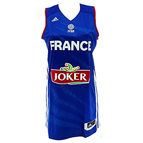 Maillot Basket France - Adidas Maillot Replica FFBB France 2014/15