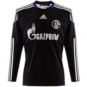 Adidas Schalke04 Torwart Trikot Kinder schwarz Gr. 164