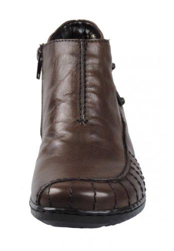 Rieker M1693, Stivali donna Marrone (Dark Brown)