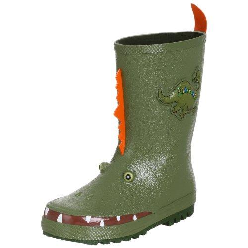 Kidorable Originale di Marca Stivali di Gomma Dinosauro per bambini, ragazze, ragazzi
