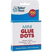 Baker Ross Mini Points de Colle (Lot de 300), Points de Colle de 6mm, Loisirs créatifs pour Enfants