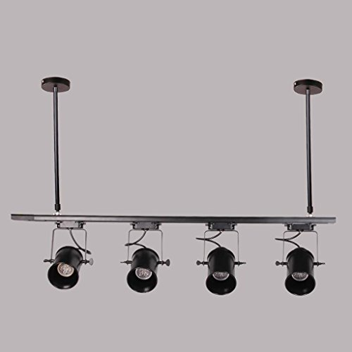 GYD - moderna illuminazione a LED palo lungo personalità semplice retrò lampada della pista americana (Illuminazione Della Pista)