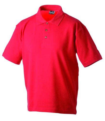 Herren Poloshirt Klassisches Polohemd Sport kurzarm Polo Shirts in verschiedene Farben Red
