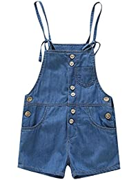 6-9months. Girls Pink Short Dungarees Girls' Clothing (0-24 Months)