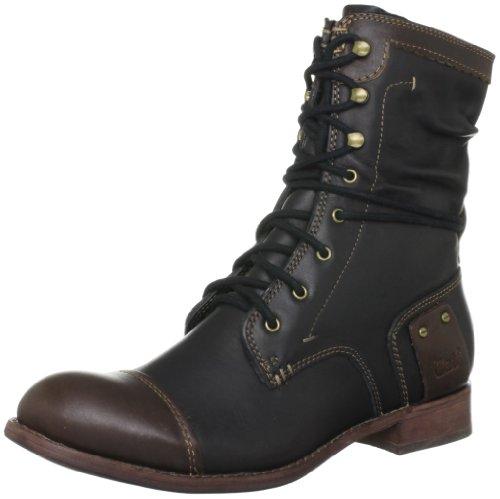 Caterpillar Marin, Boots femme - Noir (Black/Dk Brown), 36 EU