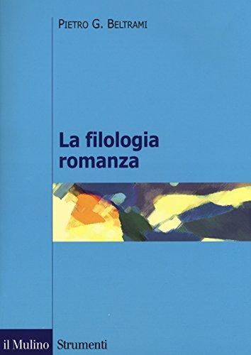 La filologia romanza
