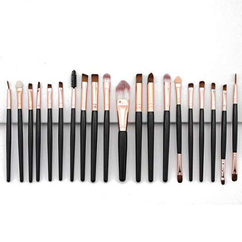 Juego de 20 brochas de maquillaje Tauser (16 colores) por 4,80€ con el #código: V9OCQQLI