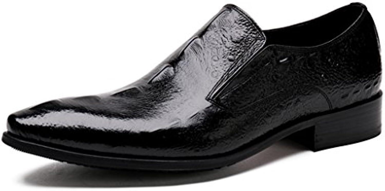 Herren Lederschuhe Männer Lederschuhe Formelle Tragen Wies Britische Art Breathable Single Schuhe Business Herrenschuhe