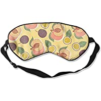 Peach Fruits Passion Fruits Sleep Eyes Masks - Comfortable Sleeping Mask Eye Cover For Travelling Night Noon Nap... preisvergleich bei billige-tabletten.eu