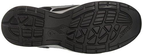 Diadora Samba Super, Sneaker Bas du Cou Homme Noir (Nero/grigio)