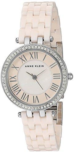 anne-klein-femme-ak-2201lpsv-cristal-swarovski-accents-rose-clair-bracelet-de-montre-en-ceramique