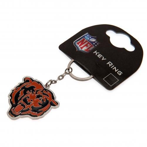 Offizieller NFL, aus Metall, Wappen Schlüsselanhänger (verschiedene Mannschaften zur Auswahl, Lieferung in offizieller Geschenkverpackung, Ideal als Geschenk