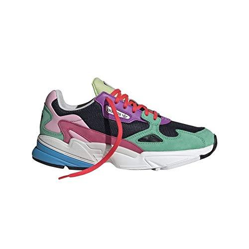 Adidas Falcon W - Zapatos de Escalada para Mujer, Multicolor (Maruni/Vealre) 37 1/3 EU