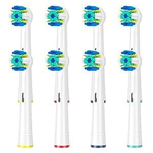 ITECHNIK Aufsteckbürsten für Oral B Aufsatzbürsten Ersatz, Ersatzbürsten kompatibel mit Oral-B Zahnbürste Elektrische Handstück,Aufsätze Zahnbürsten Ersatzbürsten für Oral b Floss(16)