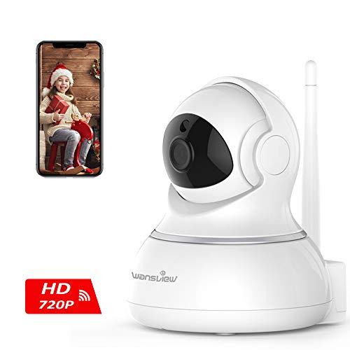 Caméra ip Sans Fil Wansview, Caméra Surveillance Wifi, Caméra Bébé, Caméra Sécurité de...