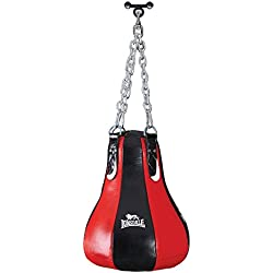 Lonsdale Leather Maize - Saco pesados de boxeo, color negro, talla 20 kg