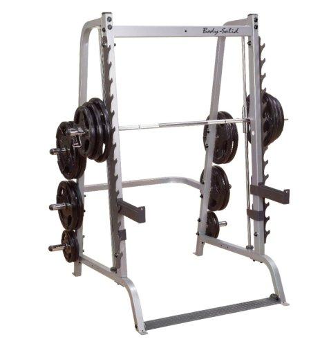 #Body-Solid GS348 Series 7 Smith Machine, Multipresse#