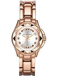 Karl Lagerfeld KL1033 - Reloj con correa de metal, para mujer, color rosa