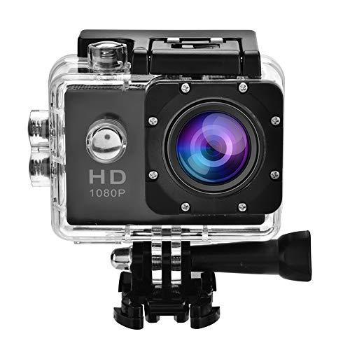 Garsent action camera 4k, hd 1080p wifi sport action dv impermeabile 30 m subacquea, telecamera con obiettivo grandangolare 140 ° con kit di accessori di montaggio per attività all'aperto