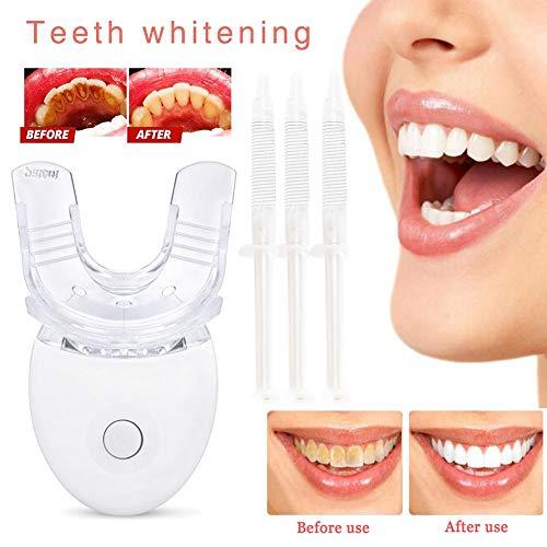 Mundstück Mit Zähnen - Teeth Whitening Kit, Professionelles zedernweißes Zahnaufhellungs-Kit