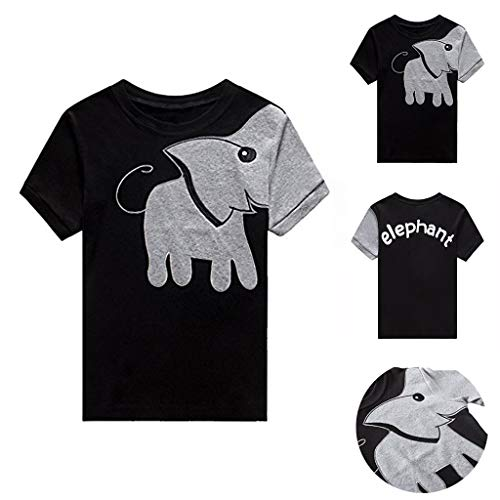 3f63ba5c1 Berimaterry Niños Puentes Elefante Suéteres con Capucha Suéter Ropa  Camisetas Casual Tops Cotton tee Niños Bebé