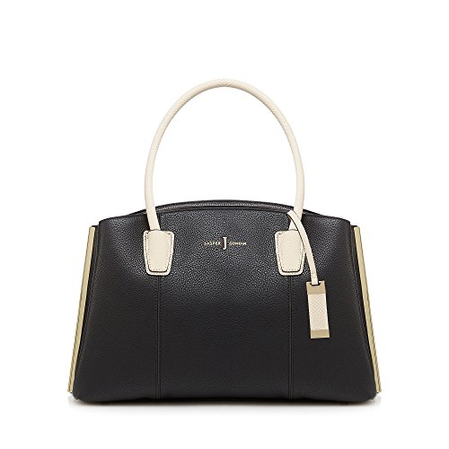 j-by-jasper-conran-womens-black-three-section-large-grab-bag