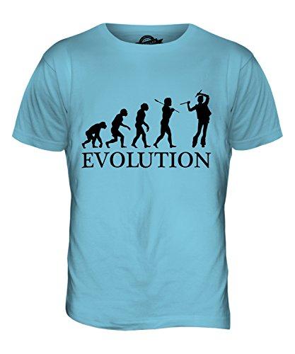 CandyMix Rave Evolution Des Menschen Herren T Shirt Himmelblau