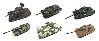 Los von 6 deutschen militärischen Panzer 1/72 WW2 PANZER LEOPARD DEUTSCHLAND ARMY TANK (EM 3-9-16-20-23-32) von EAGLEMOSS