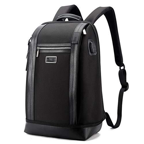 Notizbuchtaschen Diebstahlskollegen Business-Laptop-Rucksack mit USB-Charging-Port und Kopfhörer Jack Water Resistant Travel Rucksack College School Bookbag Fit 15,6 Zoll Computer.