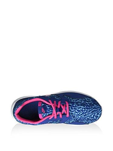 Nike Unisex-Kinder Kaishi Print Sneakers, Bunt, 35.5 EU blau / pink / weiß