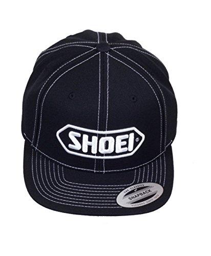 original-Shoei-Bascap-Kappe-Mtze-schwarz-weiss
