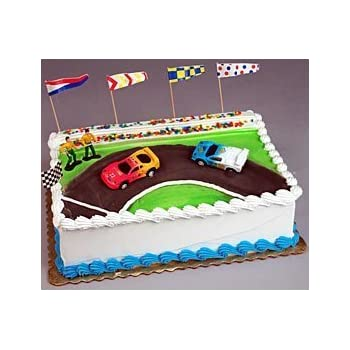 Oasis Supply Stock Car Racing Cake Decorating Topper Kit Amazonco
