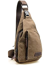 Generic Gray : Military Messenger Bag 2017 New Fashion Men Messenger Bags Casual Travel Canvas Mens Shoulder Bag...