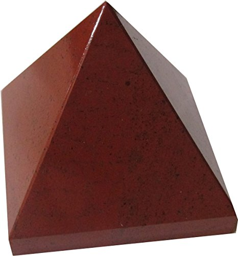 Red Jasper Pyramid - A Fire Stone