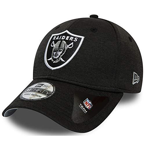 - Team Farbe Ausgestattet Hut (New Era Shadow Tech 39Thirty Cap Oakland Raiders Schwarz, Size:L/XL)