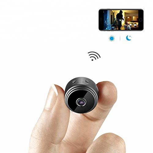 Preisvergleich Produktbild YMXLJJ HD 1080P Mini Camera Wireless WiFi Camera Indoor Family Cam Security Camera Motion Detection Night Vision iPhone / Android Phone (Black)