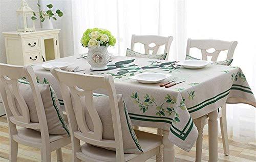 Yter Wunderschönen Home Cloth Art Kleine frische Blumen Literatur und Kunst Western Food Tablecloth Living Rectangle Tablecloth für Zuhause