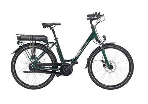EASYBIKE Easymax M25-Nv Vélo Électrique Mixte Adulte, Vert Anglais