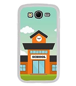 Fiobs Designer Back Case Cover for Samsung Galaxy Grand I9082 :: Samsung Galaxy Grand Z I9082Z :: Samsung Galaxy Grand Duos I9080 I9082 (School Symbols Study)