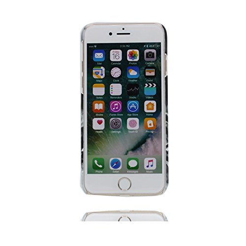 iPhone 7 Custodia, iPhone 7 Copertura, Thin Cartoon Durevole TPU Disney Carino Case Cartoon Cover Shell - [ Cartoon Ragazza , Per iPhone 7 4.7 ], Graffi Resistenti # 9