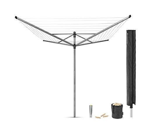 brabantia-lift-o-matic-rotary-airer-with-accessories-50-m-silver