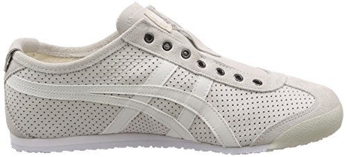 White Asics on Weiß Onitsuka 66 Unisex 0101 Slip Sneaker Mexico Erwachsene Tiger HCrqvwnxHg
