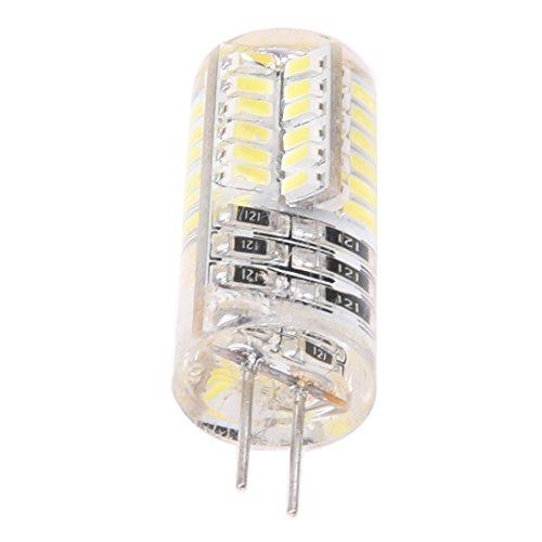 Preisvergleich Produktbild SODIAL(R) G4 LED SMD3014 3W DC / AC12V Weiss Lampe Leuchte Birne Leuchtmittel 6500K 210LM NEU