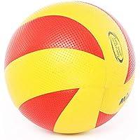 CN Voleibol Inflable Voleibol de Playa Dura niños Entrenamiento de Interior en el Examen de Competencia de Estudiantes universitarios Voleibol Especial Mujeres,Rojo,5