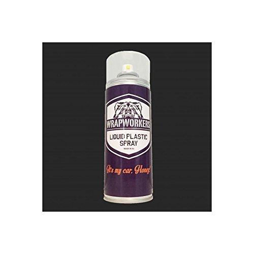 WrapWorkers Pintura en Spray de Vinilo Líquido Negro Mate