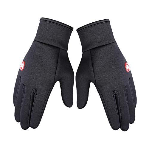 Fahrradhandschuhe Winter Handschuhe Damen Herren Sport Warm Touchscreen Laufen Arbeit Outdoor Gloves Rutschfest Winddicht Ski-Bergsteigerhandschuhe